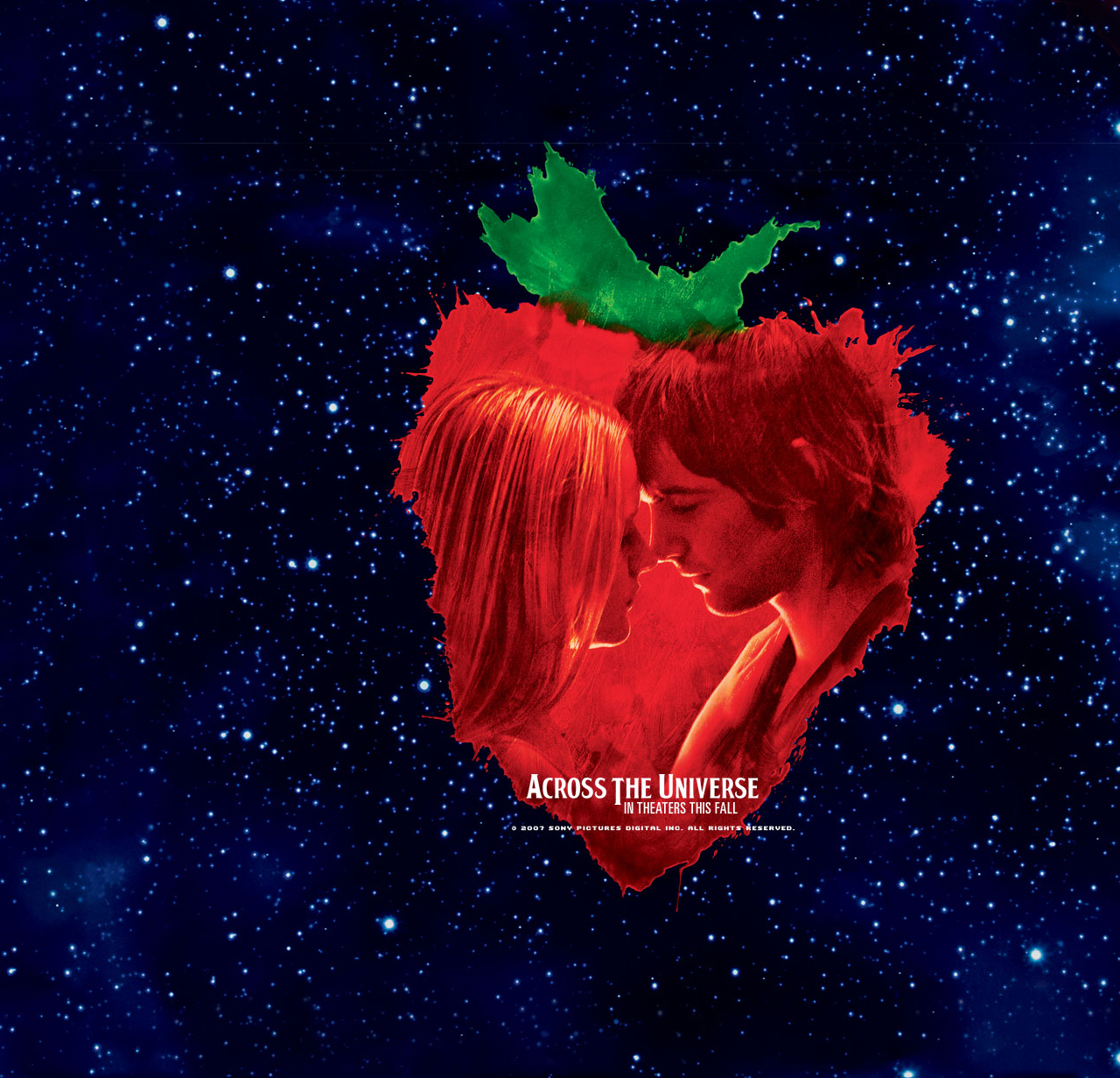 across the universe full screen